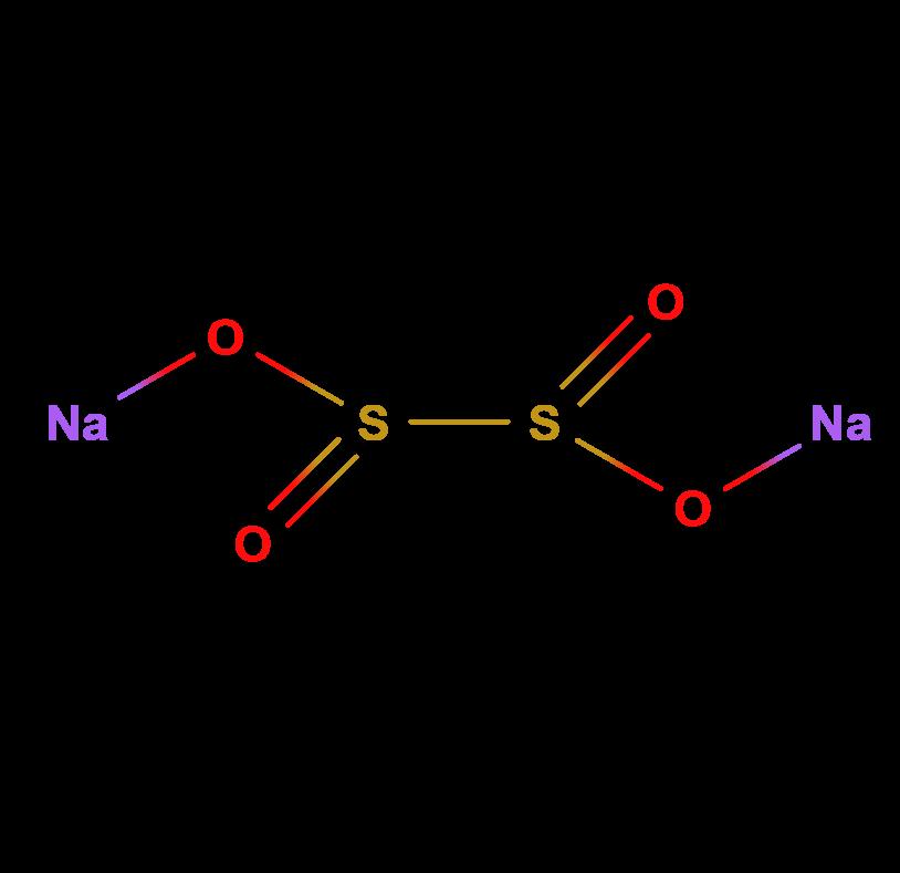 Natrio ditionitas 2D.png